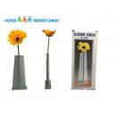 Großhandel Blumentöpfe & Vasen: Glas Vase 24,5cm mit Gerbera L Venezia