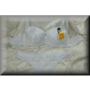 Großhandel Erotik Bekleidung: Dessous BH Set  EDLE harmonische Muster C weiß