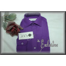 wholesale Shirts & Blouses: ABSOLUT NOBLE  shirt long sleeve for boys in purple