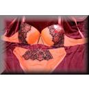 ingrosso Abbigliamento erotico: Intimo Bra Set  NOBLE Verfuehrung scorrimento D alb