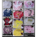 wholesale Childrens & Baby Clothing: LOT girls and boys  Long sleeve shirts 2 J.-14 J