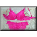 DLE DESSOUS BH SET LOVELY FLOWERS WITH SLIP B + C