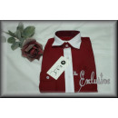 wholesale Shirts & Blouses: NOBLE Langarmhemd farbl Outgoing collar burgundy /