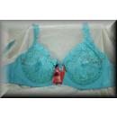wholesale Fashion & Apparel: Sleek EDLER Bra Cup F turquoise