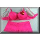wholesale Erotic Clothing: SPECIAL EDITION  Lingerie Bra Set NOBLE Flowers D p