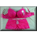 wholesale Lingerie & Underwear: Lingerie Bra Set  NOBLE Enchanting Flowers C pink