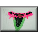 Sexy String ontworpen met bloemen en harten