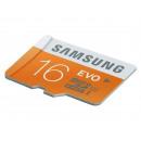 groothandel Computer & telecommunicatie: MicroSDHC 16GB  Samsung CL10 EVO UHS-I w / o-adapte