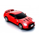 Wireless 2.4GHz  Mouse Nissan GT-R (R35) (Red)