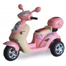 car kind - elektrische motor scooter -Rosa