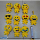 grossiste Porte-cles: Smiley Keychain  émoticônes legged mixte