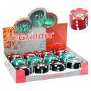 Großhandel Schmuck & Uhren: Grinder Metall Poker Chips Champ