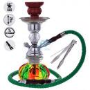 Al Malik Rabat Wasserpfeife Shisha ca. 25cm Bunt C