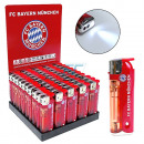 Feuerzeug mit LED Curly FC Bayern München Piez