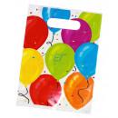 Geschenktüten 6er-Set Balloons ca.23x16cm