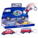 Volkswagen LED-Schlüsselanhänger Bus & Beetle VW