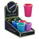 Großhandel Geschäftsausstattung: Leuchtender Aschenbecher Colors Champ