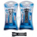 Großhandel Taschenlampen: Grundig Taschenlampe Alu 12 LED & 4/AAA