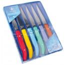 Großhandel Messersets: Laguiole 6er Steakmesser-Set Kunststoff Griff