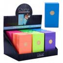 Großhandel Nahrungs- und Genussmittel: Zigarettenbox 100er Kunststoff Fashion Color C