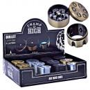 Großhandel Schmuck & Uhren: Grinder Metall Bullet 30mm Champ
