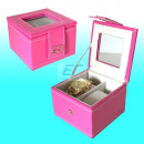 Uhrenbox für 2 Uhren Gino Casti Pink