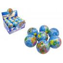 Großhandel Bälle & Schläger: Soft Ball Weltkugel ca.7cm
