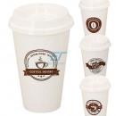 Kaffeebecher To Go ca. 450ml Kunststoff