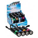 Großhandel Taschenlampen: Grundig Taschenlampe Alu Schwarz 6 LED & ...
