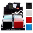 Großhandel Nahrungs- und Genussmittel: Zigarettenetui mit Clip Colors 20er Atomic