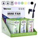 Tekmee Mini Ventilator für Smartphone iPhone & And
