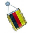 Großhandel Fanartikel & Souvenirs: Deutschland Wimpel mit Saugnapf EM 2020