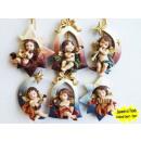 groothandel Figuren & beelden: Angel Ornaments 8cm kerst