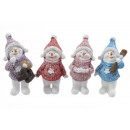 wholesale Pullover & Sweatshirts: Snowman with sweater and cap