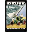 Großhandel Bilder & Rahmen: Blechschild Deutz 20 x 30cm