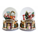 wholesale Snow Globes: Snow globe 100mm with music box 14cm