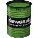Großhandel Geschäftsausstattung: Spardose Ölfass Kawasaki 600 ml