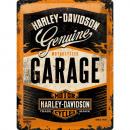 Großhandel Bilder & Rahmen: Blechschild Harley - Davidson 30 x 40cm