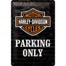 BlechschildHarley - Davidson20 x 30cm