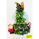 carillon globo di  neve come un albero di Natale