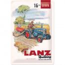Großhandel Bilder & Rahmen: Blechschild Lanz 20 x 30cm
