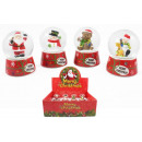 wholesale Gifts & Stationery: Snow balls on gift base, approx. 6,5cm