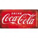 Blechschild Coca - Cola 25 x 50cm