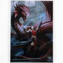wholesale Pendant: Magnet Fairy with Dragon Anne Stokes