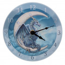 groothandel Klokken & wekkers: Dragon Wall Clock Lisa Parker Ø 17cm