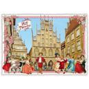 grossiste Gadgets et souvenirs: Nostalgie carte  postale / carte de voeux Munster S