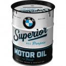 Großhandel Geschäftsausstattung: Spardose Ölfass BMW 600 ml