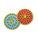 wholesale Wooden Toys: Wooden shield round about 29cm