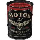 Großhandel Geschäftsausstattung: Spardose Ölfass Motor Oil 600 ml