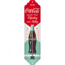 Großhandel Wetterstationen: Blech Thermometer  Coca - Cola 6,5 x 28cm